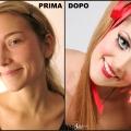 Sara - Bambola (prima & dopo)